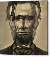 Abraham Lincoln Canvas Print