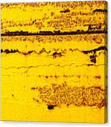 Abstracted In Ochre Canvas Print