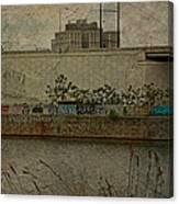 Across The Schuylkill River In Philadelphia - Pennsylvania - Usa Canvas Print