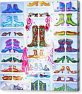 Alaska Berry Fairy Shoon Canvas Print