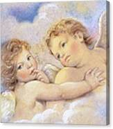Angels In The Sky Canvas Print