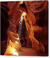 Antelope Canyon Ray Of Hope Canvas Print