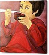 Asian  Doll Canvas Print