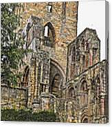 Augustinian Abbey Canvas Print