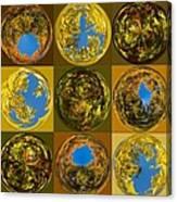 Autumn  Spheres Canvas Print