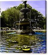 Bethesda Fountain - Central Park  Canvas Print