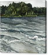 Big Muskallunge Lake  Canvas Print