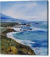 Big Sur Coastline Canvas Print