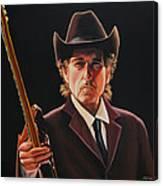 Bob Dylan 2 Canvas Print