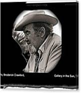 Broderick Crawford  All The King's Men Homage 1949 Gallery In The Sun Tucson Arizona Canvas Print