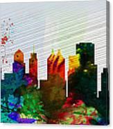 Buffalo City Skyline Canvas Print