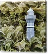 Canal Beacon - Panama Canvas Print