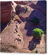 Canyon De Chelly Farmland Canvas Print