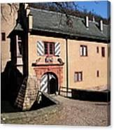 Castle Entrance Canvas Print