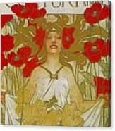Century Midsummer Holiday Number Canvas Print