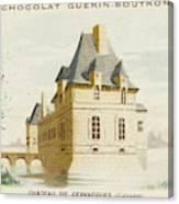 Chateau De Fervacques (calvados) Canvas Print