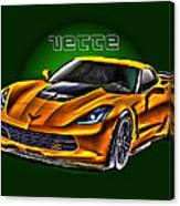 Chevrolet Corvette Z06 Canvas Print