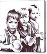 Children Should Not Need Food ... Canvas Print