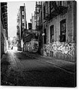Chinatown New York City - Mechanics Alley Canvas Print