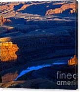 Colorado River Sunset Canvas Print