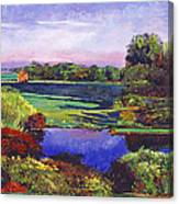 Country View Estate Canvas Print