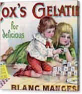 Cox's Gelatine For Delicious Canvas Print