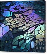 Cut Glass Mosaic  Canvas Print