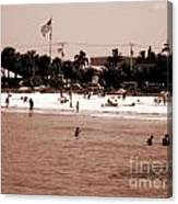 Fort Myers Beach Canvas Print