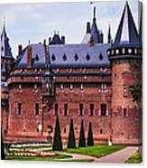 De Haar Castle 4. Utrecht. Netherlands Canvas Print