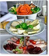 Decorative Food Canvas Print