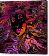 Desire On Fire Canvas Print
