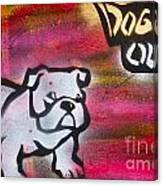 Dogged Out 1 Canvas Print