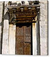 Doorway To The Duomo Canvas Print