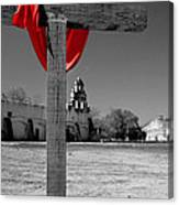 Mission San Juan Easter Cross Canvas Print