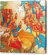 Easternvisitors Canvas Print