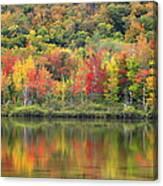 Echo Lake Fall Reflections Canvas Print