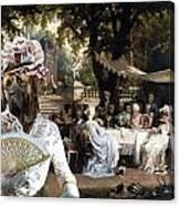 English Mastiff  - Mastiff Art Canvas Print - The Garden Party Canvas Print