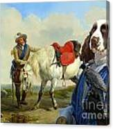English Springer Spaniel Art Canvas Print Canvas Print