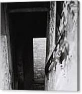 Ephrata Cloisters Stairway Canvas Print