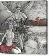 Fairys Lesson Canvas Print
