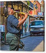 Feel It - Doreen's Jazz New Orleans 2 Canvas Print