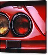 Ferrari Red Canvas Print