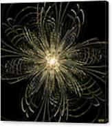 Filigree Flower Canvas Print