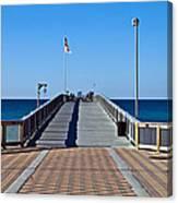 Fishing Pier Canvas Print