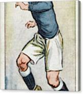 Fred Keenor, Player For Cardiff City Canvas Print