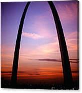Gateway Arch Sunrise Canvas Print