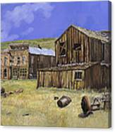 Ghost Town Of Bodie-california Canvas Print