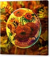 Van Globing Inflorescence Canvas Print