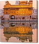 Golden Temple - Amritsar Canvas Print
