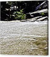 Granite River Canvas Print